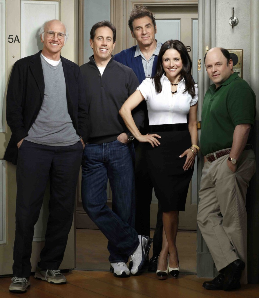 El cast de Seinfeld en la reunión de Curb Your Enthusiasm
