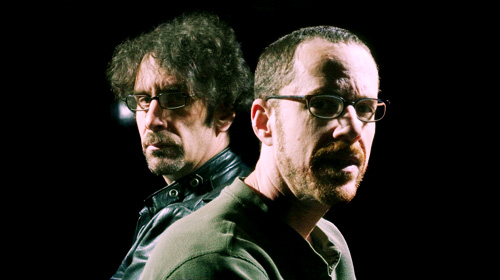 Joel And Ethan Coen Pose In New York